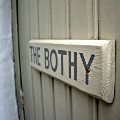 The Bothy: Self catering for two